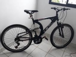 Bicicleta Track & bikes Aro 26 400XS Aluminio Suspensão dupla 21V