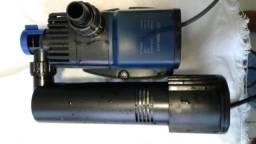Bomba Submersa Sunsun Jtp-2800uv Com Uv 9w 2.800l/h 18w 110v