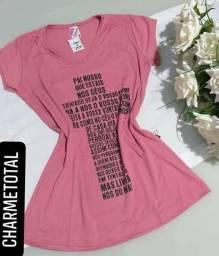535432f310 Blusinha T-shirt frases de oração