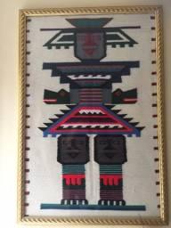 Vendo varios quadros - pintados, de papiro, e de tapecaria