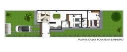 Casas novas em Aquiraz na planta fino acabamento
