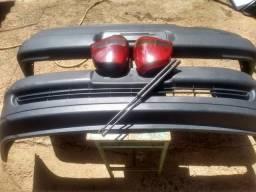 Usado, Para-choque dianteiro e traseiro Gol bola comprar usado  Águas Lindas De Goiás