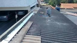 Manutenção de telhados e vazamentos