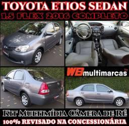Toyota Etios 1.5 Sedan 2016 Mecânico Completo