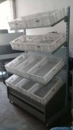 Expositor de Frutas 10 cestos