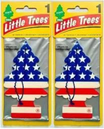 Little Trees Aromatizantes pra carro - Cheirinho Original EUA