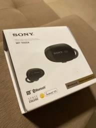 Fone SONY Headset intrauricular wf1000x