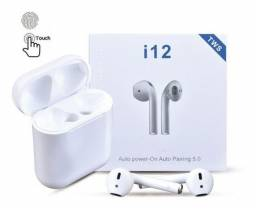 Fone bluetooth i12 tws Airpods e Android