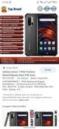 Ulefone armo 7 128 memória 8 de ram