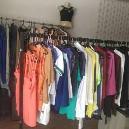 Vendo roupas para brechó tem mais 250 peças