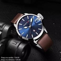 Relógio masculino importado original Ristos exclusivo