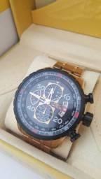 Relógio Aviator original com caixa e.manual