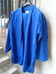 Kimono karatê jiu jitsu judô torah azul a1 sem detalhes