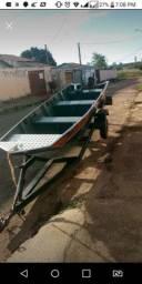 Vendo kit de pesca , barco, motor , carretinha