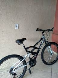 Bicicleta amortecedor duplo