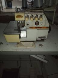 Máquina costura interlock e catraca