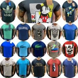 Camisetas Masculinas Nacionais Atacado
