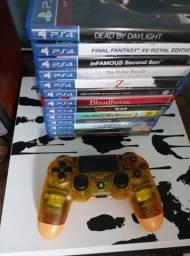 Vendo PS4 Pro Edição Limitada Death Stranding!