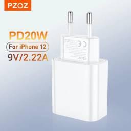 Carregador iPhone 12/11/X