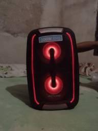 Caixa de som portátil Multilaser usada