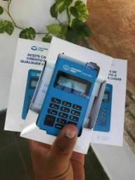 Máquininha de cartão point mini via bluetooth