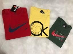 Camisetas 5 por R$ *