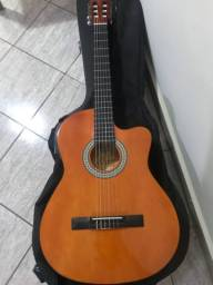 Violão Giannini nylon elétrico