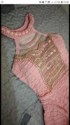 Vestido para debutantes vestido rosa