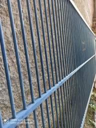 Portão grade zinco