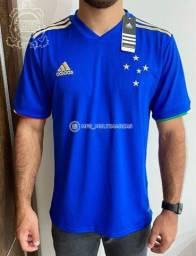 Camisa Oficial do Cruzeiro Azul 2021