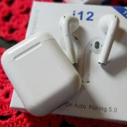 Fone de Ouvido I12 TWS sem fio Inpods 12 Bluetooth 5.0