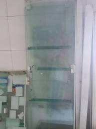 Porta de vidro temperado 10mm 2.10x2.40