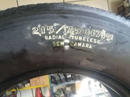 4 pneus sem camara recapado