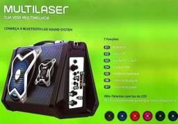 Caixa de Som Multilaser