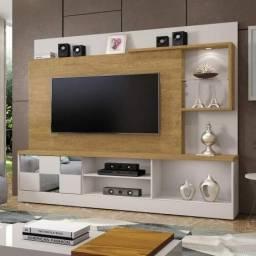 Estante Home Theater Para TV até 65 Polegadas Dinamarca Espelho