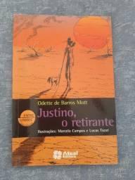 Livro Justino, o retirante