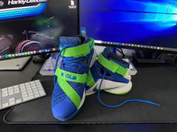Nike Lebron Soldier 9 Sprite Edition
