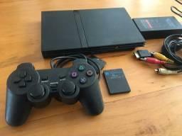 Playstation 2 Slim.