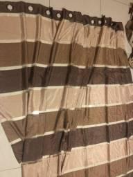 Cortina em tecido - varão