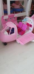 Avião da Barbie Jato luxo