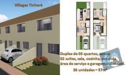 Duplex com 3 dormitórios à venda, 65 m² por R$ 169.500 - Coroa Vermelha - Santa Cruz Cabrá