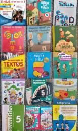 Livros didáticos 5° ano ensino fundamental.