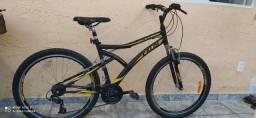 Bicicleta semi nova Caloi - Andes Aro 26
