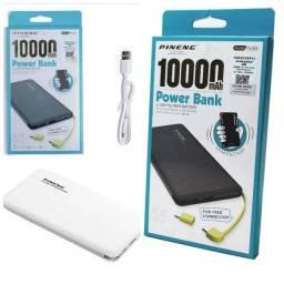 Carregador portatil pineng bateria externa 10000 mah