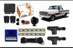 Kit Trava Eletrica + Alarme F1000 F150 F250 2 Portas