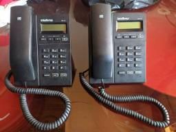 2 Telefones IP Intelbras tip 125
