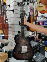 Violao Elétrico Aço Vogga Clássico Vce218Nc Gy Instrumentos novos a venda olx