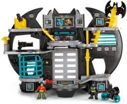 Batcaverna Batman Robin Imaginext DC Super Friends Fisher Price Brinquedos Toys Kids