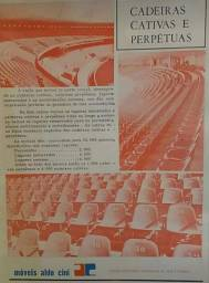 Cadeira estádio Beira Rio s.c internacional