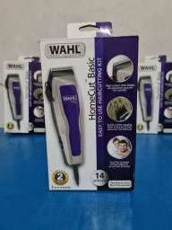 Máquina de Cortar Cabelo Wahl Original  cinza com regulador KIT barbeiro completo